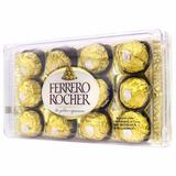 Ferrero Rocher Chocolate Bombom Com 12 Unidades