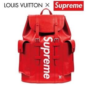 Mochila Louis Vuitton Supreme Alta Calidad En Piel