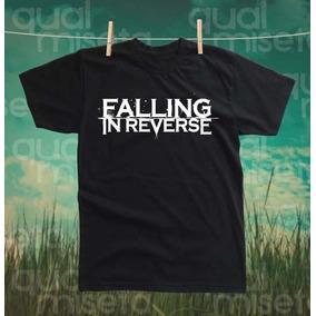 Camiseta Falling In Reverse Algodão Impressão Silk Screen