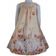Vestido Bata Infantil Katitus De Esquilo