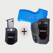 Kit Coldre Kydex Specs + Porta Carregador   G2c