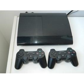 Playstation 3 Slim 500gb Con 2 Joystick Y 9 Juego Originales