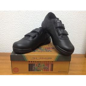 Zapatos Escolares Jump - Color: Negro - Talla 37