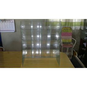 Caramelera Escalera De 16 Compartimientos/vidrio.