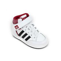 Zapatilla Adidas Originals Viral Mid Kids Blanco Negro