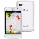Smartphone Lg Optimus L4 Ii E-467f Dual Tv - Branco Vitrine