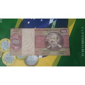 Cédula Rara De 100 Cruzeiros Com Asterisco.