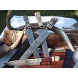Cuchillo Artesanal Tandilero De 30 Cm De Hoja