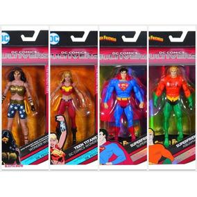 Dc Multiverse Aquaman Superman Teen Titan Wonder Woman Pack4