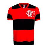 Camisa Flamengo Fla Lib Crf Retrô ( Algodão ) - Masculina