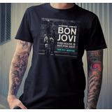 Bon Jovi Tour 2017 - Remera Algodon Premium