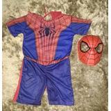 Fantasia C/ Mascara Batman,homem Aranha,super Homem ,huck