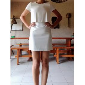 Vestido Blanco Trafaluc Zara Talle M X Cher X Las Pepas