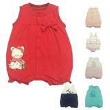 Macacão Curto De Malha Para Bebê Varios Modelos 3d