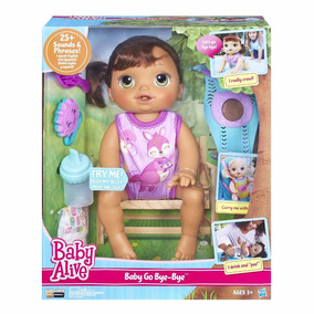 Baby Alive Hora Do Passeio Morena