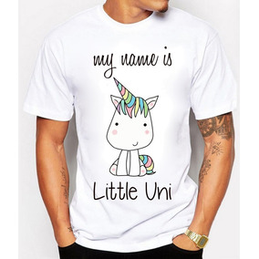 Playeras Panda Xd Unicornio My Name Is Little Uni