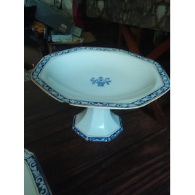Porcelana Inglesa Sellada.fuente, Platos, Centro P/torta