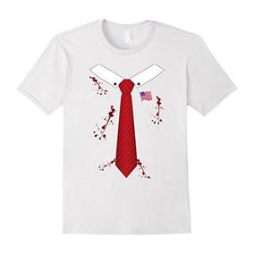 Mens Bloody O Zombie Presidente De Estados Unidos Halloween