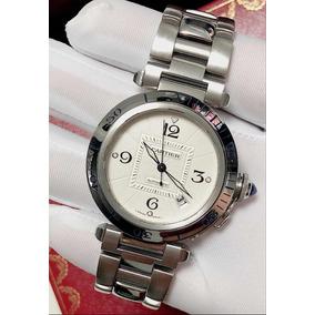 10110625430 Cartier Pasha Todo De Ouro - Relógio Masculino no Mercado Livre Brasil