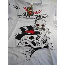 Camisa Ed Hardy Tattoo Style Pronta Entrega Envio Imediato