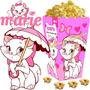Kit Imprimible Gatita Marie Candy Bar Y Cotillon Cumple 2x1