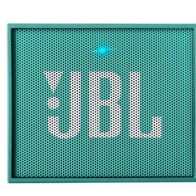 Caixa De Som Bluetooth Jbl Go Verde Água, Bateria Recarregã