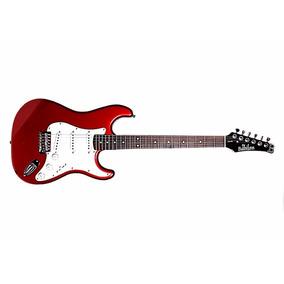 Guitarra Electrica Roja Azul Blanca Negra Beg-462 Babilon