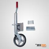 Pedestal De Roda Para Reboque Roda Louca Escamoteável