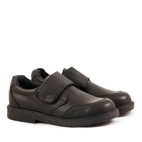 Zapatos Colegiales Escolares Varón De Cuero Del 34 Al 40