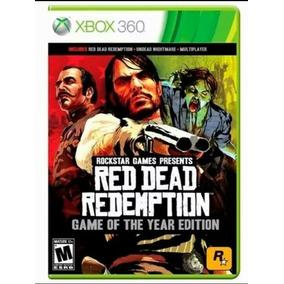 Cd Red Dead Redemption Goty Xbox 360 Destravado