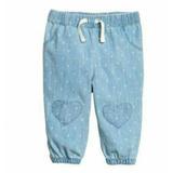 Pantalon Hym Jean Beba 9 A 12 Meses
