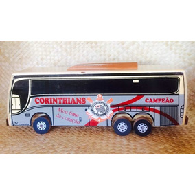 Ônibus De Madeira Brinquedo (corinthians)