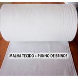 Tecido Para Camisetas Branca Malha Fria Pv - Ótima P Estampa