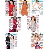 Kit 7 Revista Manequim Costura Roupas Moda Vestido + Moldes