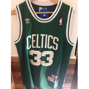 Camiseta Musculosa Basquet Nba Verde Boston Celtics Bird
