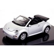 Miniatura New Beetle Cabrio Autoart Escala 1/43