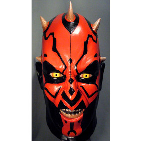 darth maul mascara latex halloween terror star wars