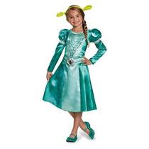 Disfraz Para Niña Fiona Disfraz Clásico, Medium (7-8)