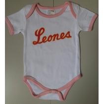 Body Para Bebé Leones Del Caracas Beisbol Venezolano