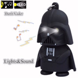 Chaveiro Star Wars - Darth Vader Com Sons E Luzes