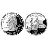 Fv * Eeuu 2005 S - ¼ Dólar Proof Varios Estados A Elegir C/u