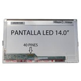 Pantallas 14.0 Led Para Laptops 40 Pines
