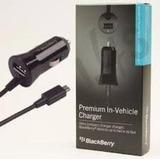 Cargador De Carro Blackberry Premium
