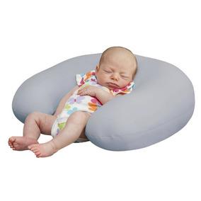 Almofada Fom Para Amamentação E Apoio Cinza - Baby Pil