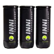 Bola De Tenis Inni Tournament 3 Tubos