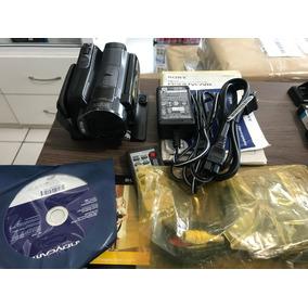 Filmadora Sony Hdr-sr11 Entrada Microfone Nova Com Nota Fisc