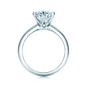 a055f550636b2 Solitário Tiffany - Anéis com o melhor preço no Mercado Livre Brasil