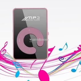 Moda Mini Clip Sport Usb Micro Sd Tf Espejo C Botón Mp3