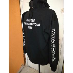 Buzos Justin Bieber Forever Purpose Tour Con Capucha