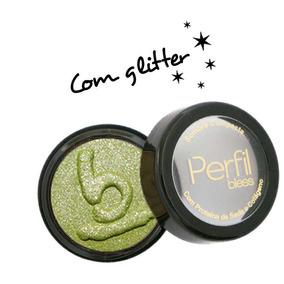 Sombra Compacta Com Glitter - Verde - Imperdível